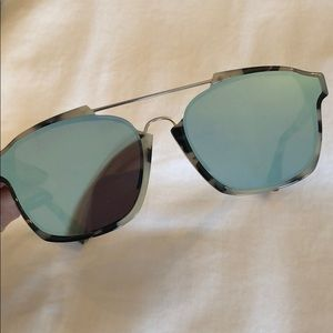 b689c0b16a3 Dior Accessories - 100% AUTHENTIC DIOR ABSTRACT MIRRORED SUNGLASSES